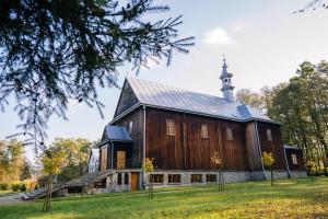 Beautiful wooden churches